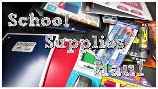 School Supplies Haul | Middle School and High School
