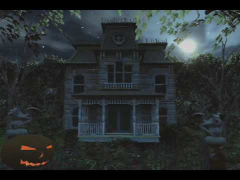 Haunted house screamsaver youtube for Free house photos