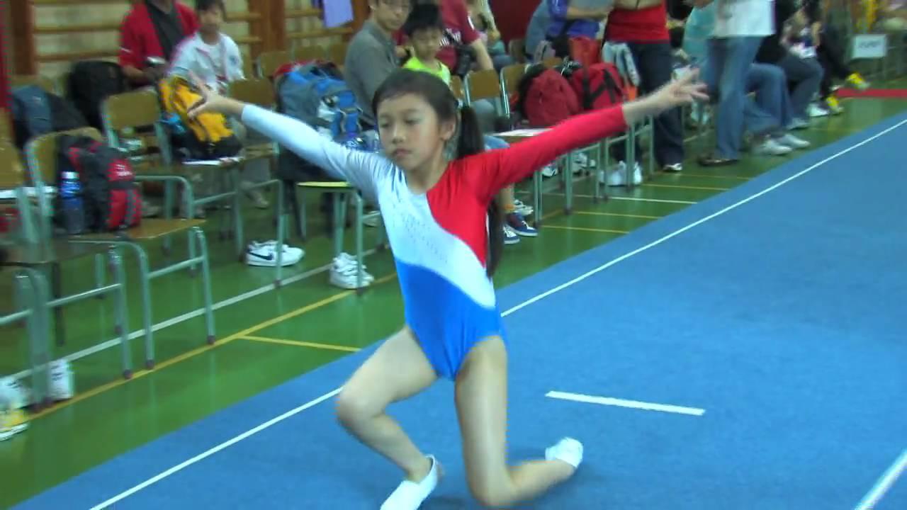全港小學體操邀請賽 女子自由體操 01
