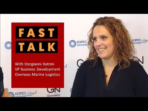 #FastTalk with Stergianni Katrini, VP Business Development of Overseas Marine Logistics