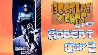 Bootleg Zones: Robert Cop (Bootleg Robocop Figure Review) - Phelous