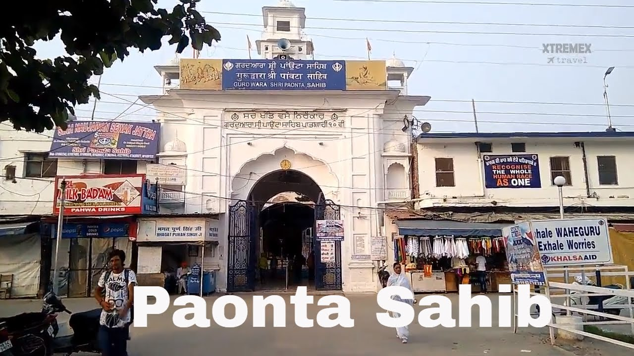 Paonta Sahib - peaceful place in Himachal