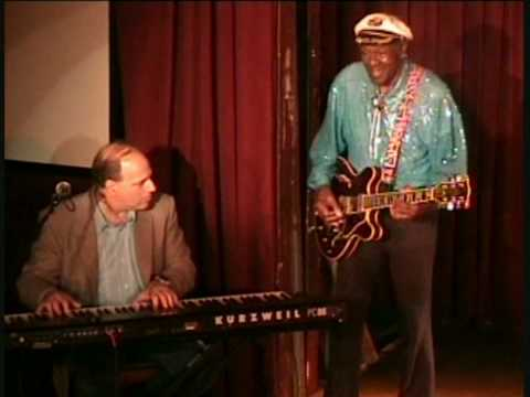 """Chuck Berry (with John Colianni on piano), """"Let It Rock""""/Johnnie B. Goode""""."""