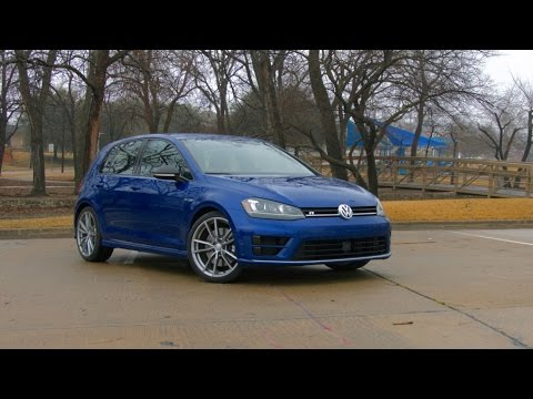 2017 VW Golf R Test Drive and Review