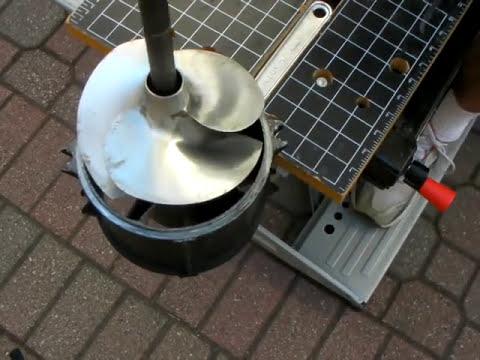 Polaris Pwc 148mm Jet Pump Removing The Impeller Youtube