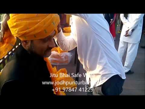 Turban - Jodhpuri Safa, Wedding Turbans - Jitu Bhai Safa Wale