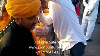 Turban - Jodhpuri Safa, Wedding Turbans - Jitu Bhai Safa Wale