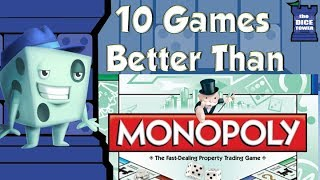 10 Games Better Than Monopoly - with Tom Vasel