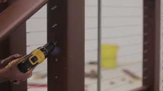 Timbertech Evolutions Rail™ Contemporary With Cablerail For Stairs Install