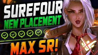 SUREFOUR ASHE - FINAL PLACEMENTS GAME! MAX SR! [ OVERWATCH SEASON 23 TOP 500 ]