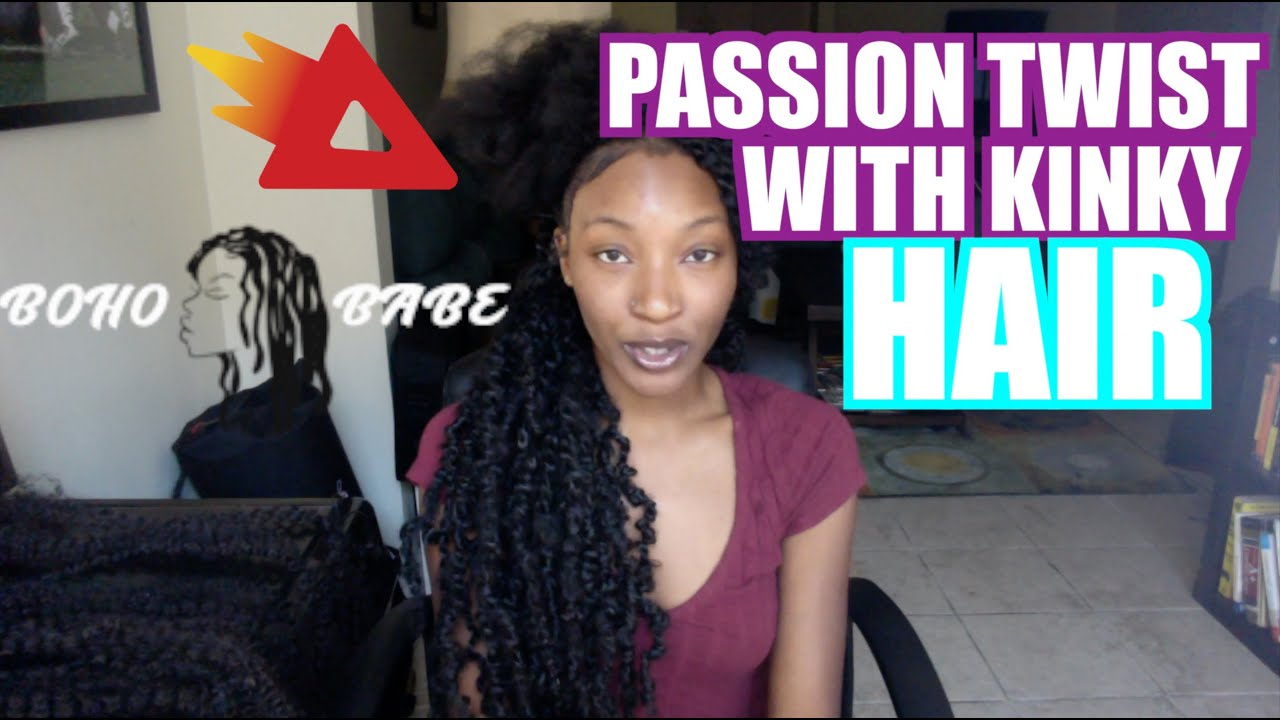 b96969305007 HOW TO DO PASSION TWISTS OVER KINKY 4b/4c hair BY: THE BOHO BABE ...