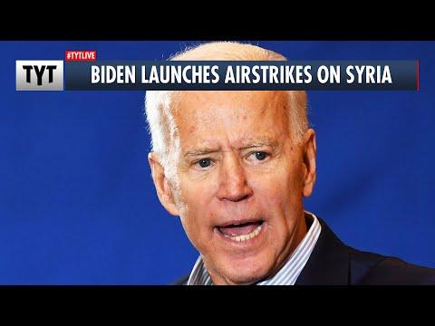 Biden Greenlights Military Strike In Syria