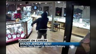Brazen Jewelry Heist In Texas