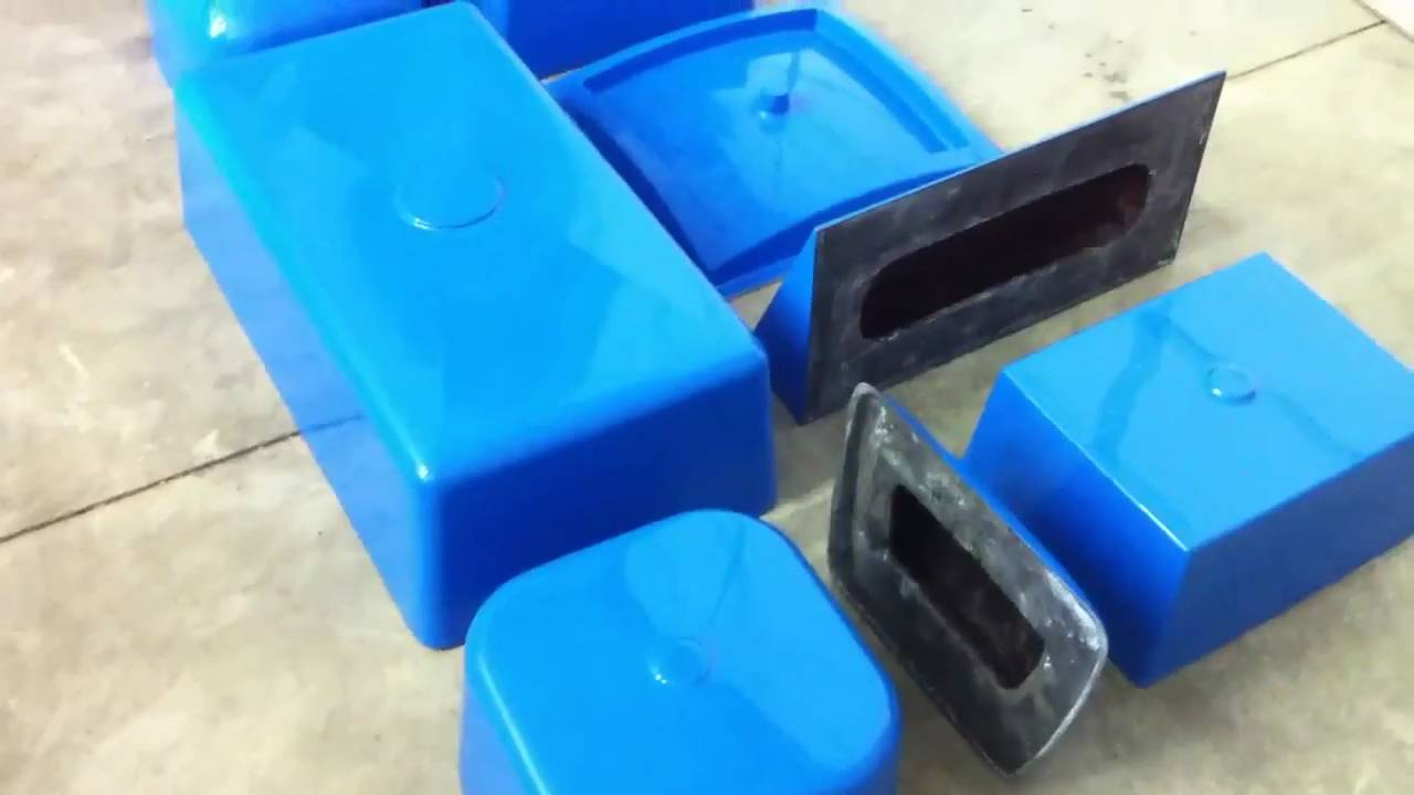 Dura Blu Fiberglass Sink Molds For Concrete Youtube