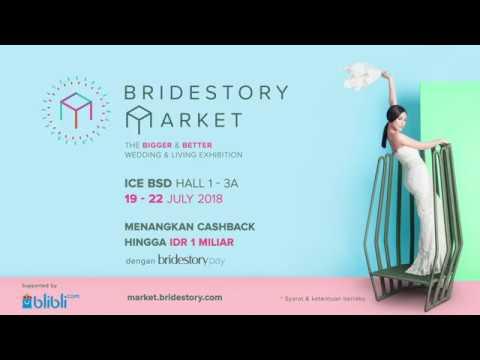 Cover Lagu Temukan Vendor Wedding Kamu di Bridestory Market 2018! HITSLAGU