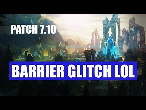 FUNNY BARRIER GLITCH (Brand walking out of the  Barrier) Patch 7.10