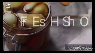 Чудо нопиток  (Яблочный уксус, мед и чеснок  лечебный эффект в кубе)