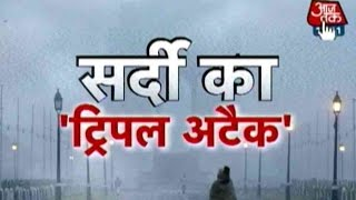 Ten Indian States Hit By Extreme Cold Weather