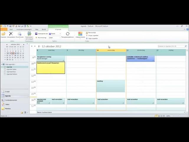 Een compleet project inplannen in je agenda