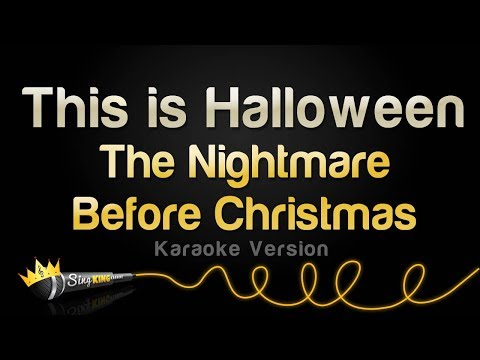 The Nightmare Before Christmas - This Is Halloween (Karaoke Version)