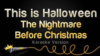 The Nightmare Before Christmas - This Is Halloween (Karaoke Version)