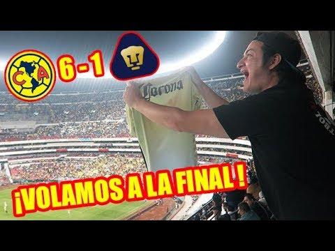 ¡HUMILLACIÓN Y A LA FINAL! Desde el Azteca America 6-1 Pumas