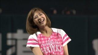 女性ファン向けのイベント「タカガール♡デー」の始球式を務めたのは人気...