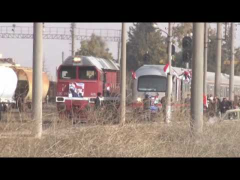 First Train Journey Through Aleppo In Over Four Years