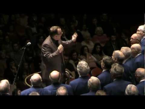 Drunken Sailor. Bristol Male Voice Choir, Gurt Winter Concert 2012, The Colston Hall
