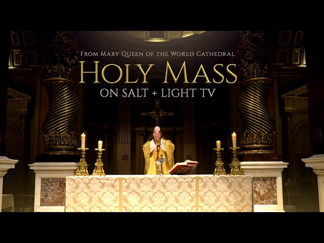 Mass September 18, 2021 (Our Lady's Saturday)