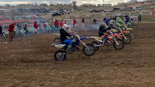 BLOWN UP MY YZ 85,  FIGHTS AND MOTOCROSS RACING!! Round 2 Taft NGCP