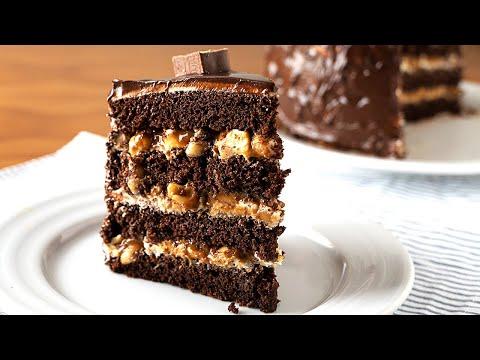 No me esperaba que fuera tan deliciosa! La tarta SNICKERS de mi vecina. Mejor que las chocolatinas