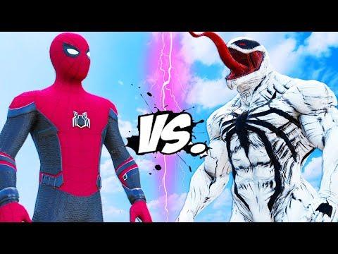 ANTI-VENOM vs SPIDER-MAN (Far From Home)