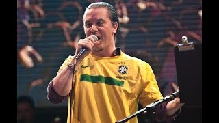 Mike Patton reacts to Stone Sour • Rock In Rio 2011