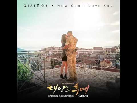 [AUDIO] 140414  XIA Junsu - How Can I Love You  (OST Descendants Of The Sun - Part 10)
