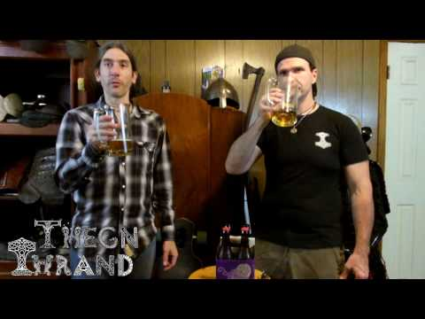Thrand Birthday Special And Dogfish Head Midas Touch Ale Review!