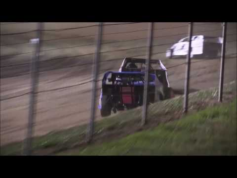 UMP Modified B-Main #1 from Portsmouth Raceway/Dirt Track World Championship, 10/13/16.