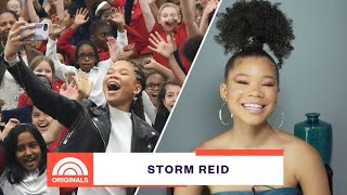 'Euphoria' Star Storm Reid & Her Advice to Gen Z | TODAY