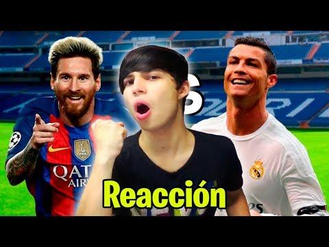 Messi vs Cristiano Ronaldo. Épicas Batallas de Rap del Fútbol (Vídeo Reacción)