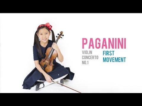 Paganini Violin Concerto No.1, Op.6, 1st mov | Leia Zhu