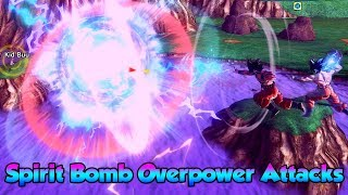 Which Attacks can Spirit Bomb Overpower?! - Dragon Ball Xenoverse 2