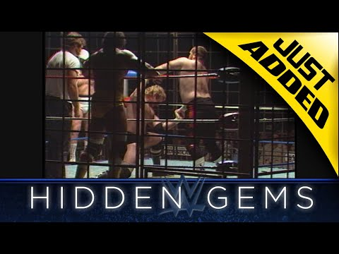 The Tag Team Titles are on the line in a Steel Cage Match in rare Hidden Gem from 1983 (WWE Network)