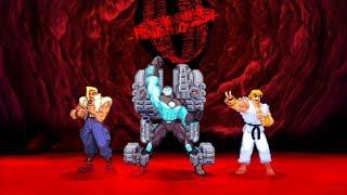 Marvel VS Capcom 2 - War Machine/Charlie/Ken - Expert Difficulty Playthrough