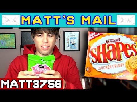 Matt's Mail: Bizarre Australian Food Strange Foods + Things | Matt3756