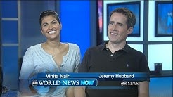 Jeremy Hubbard and Vinita Nair Visit ABC News