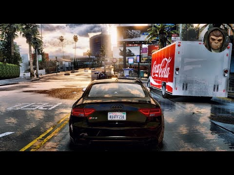 ► GTA 6 Graphics 👍 ULTIMATE Cars Gameplay Video 🔥 | 60 FPS Ultra Realistic Graphics MOD GTA V