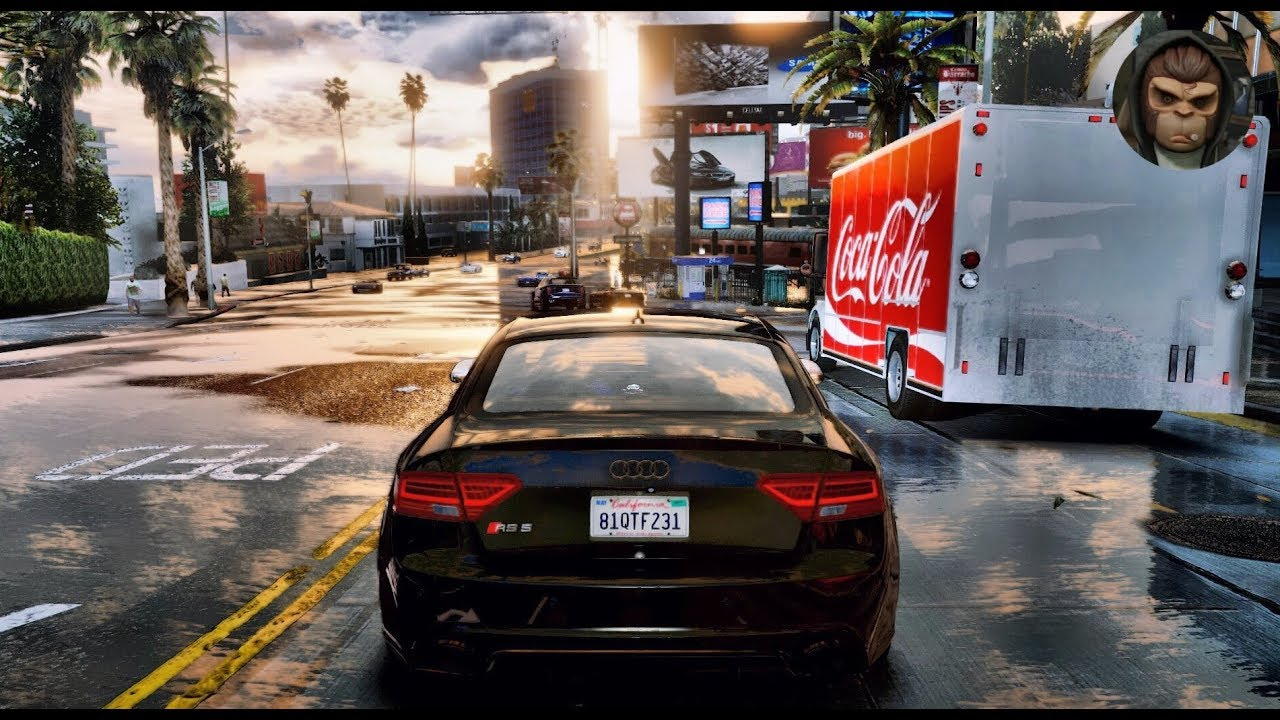 Ultra Realistic Hdr Graphics 60fps Gameplay: GTA 6 Graphics 👍 ULTIMATE Cars Gameplay Video 🔥