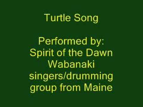 Turtle Song - Wabanaki Drumming Song