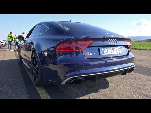 693HP Audi RS7 Sportback - Exhaust Sounds!