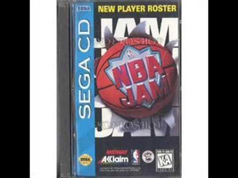 NBA Jam (Sega CD) - Team Select music